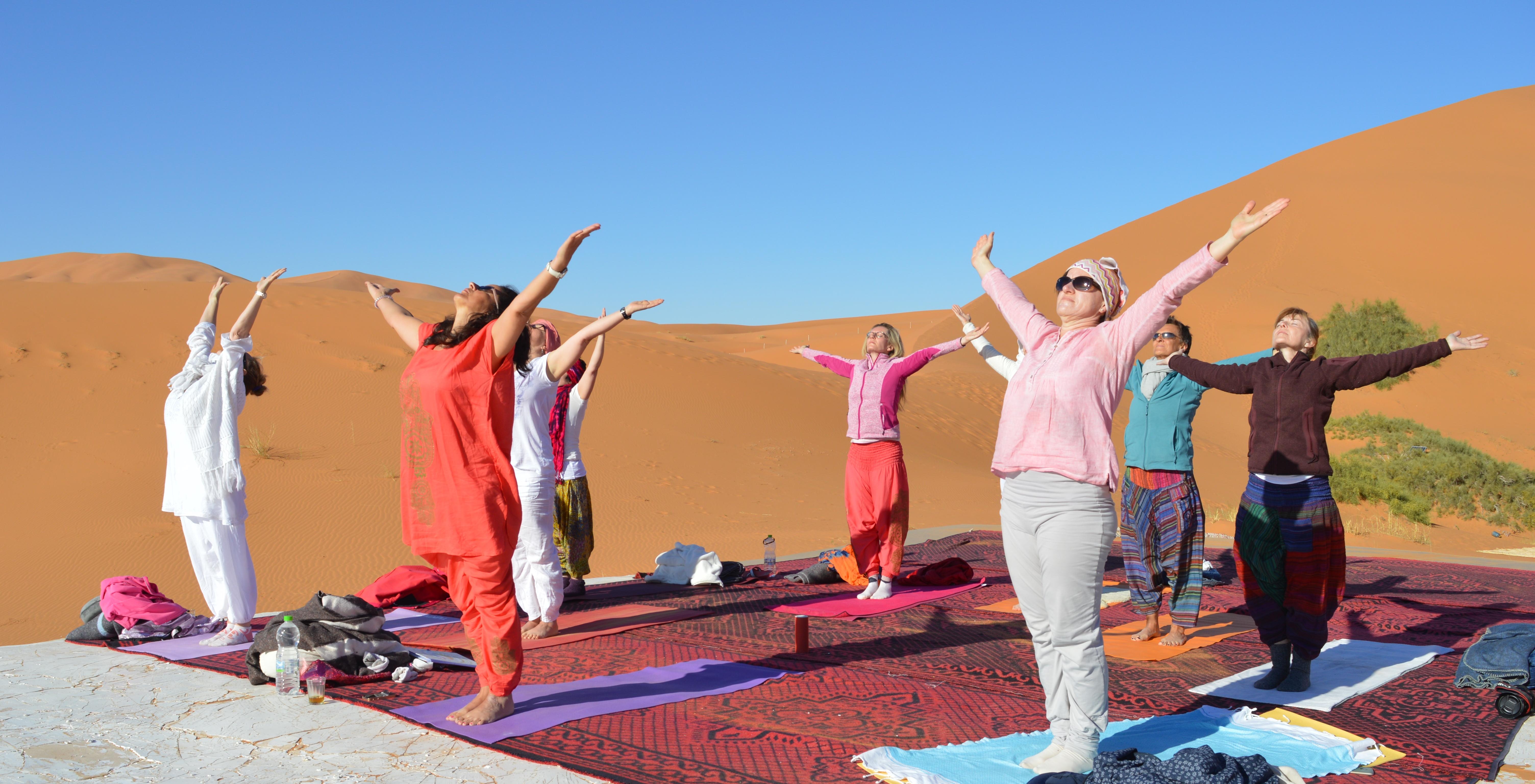 Yoga in Marokko